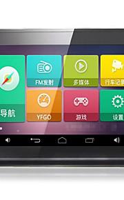 Android intelligente registratore di traffico da 7 pollici di navigazione schermo capacitivo