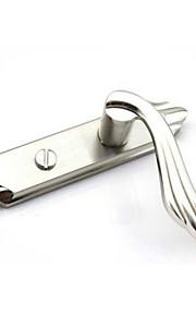 deurslot gat afstand 110mm enkele tong niet sleutel aluminiumlegering druk op slot