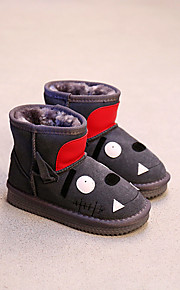 Girl's Boots Comfort Suede Casual Black Red Gray