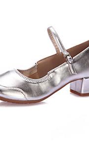 Для женщин-Блестки-Не персонализируемая(Серебро / Золотистый) -Латина / Степ / Модерн / Обувь для свинга
