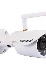 1 MP Mini All'aperto with Filtro a infrarossi 无卡(Impermeabile / Giorno Notte / Sensore di movimento / Dual stream / Accesso Remoto /