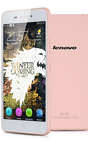 "Lenovo S60W 5.0 "" Android 4.4 Smartphone 4G ( Due SIM Quad Core 13 MP 2GB + 8 GB Rosa / Bianco )"