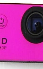 Actiecamera / Sportcamera 12MP / 8MP / 5MP 640 x 480 / 1024 x 768 WIFI / Draadloos / Multifunctioneel 1.5 / 2Enkele opname / Burstmodus /