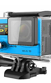H3R Actiecamera / Sportcamera 20MP 4608 x 3456 WIFI / Verstelbaar / Draadloos / Groothoek 30fps Neen ± 2EV Neen CMOS 32 GB H.264Enkele