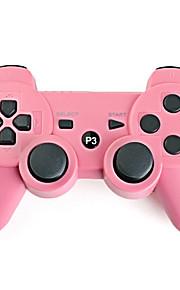 Oplaadbare draadloze USB-controller, voor PS3 (roze)