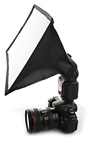 Sidande 15 * 17cm Portable Photography Mini Flash Diffuser Softbox Kit for Canon / Nikon / Samsung DSLR