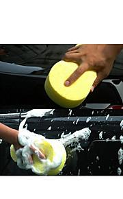 lavado de coches esponja que tomará el agua de lavado de coches absorción de esponja-un paquete de 5