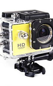 SJ4000 Actiecamera / Sportcamera 20MP 4608 x 3456 WIFI / Verstelbaar / Draadloos / Groothoek 30fps Neen ± 2EV Neen CMOS 32 GB H.264Enkele