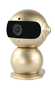 yanse® indoor 1.3MP robot mini night vision babyfoon hd wifi leuke ip camera (toegang op afstand / plug and play)