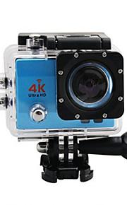 4K Actiecamera / Sportcamera 8MP / 3MP / 5MP / 12MP WIFI / Waterbestendig / Groothoek 30fps Neen 2 CMOS Enkele opname / Burstmodus 30 M