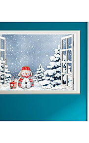 Jul Wall Stickers Fly vægklistermærker Dekorative Mur Klistermærker,Papír Materiale Hjem Dekor Veggoverføringsbilde