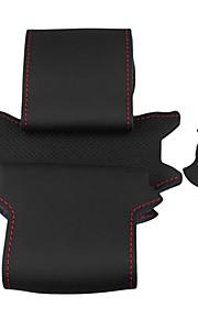 ziqiao zwart lederen stuurwiel hoes voor Nissan Qashqai x-trail NV200 rogue