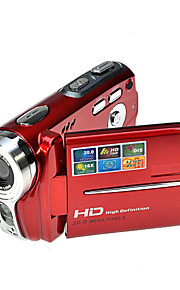 rich® hd 720p 5MP 16x zoom digitale video camera camcorder dv rood