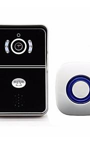 1.0 145 CMOS Dørklokke System Trådløs Flerfamiliehuse video dørklokken