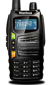 Wanhua gts710 walkie talkie vhf 136-174MHz UHF 400-480mhz 128CH 5W vox DTMF ricetrasmettitore portatile radio bidirezionale