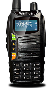 Wanhua gts710 walkie talkie vhf 136-174mhz uhf 400-480mhz 128ch 5w vox DTMF bærbare transceiver tovejs radio