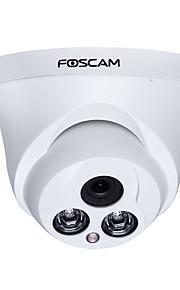Foscam® ht9852p indendørs 1.0mp hd 720p ip dome kamera med motion detection alarm og 30ft nattesyn