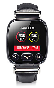 1.22 IPS Heart Rate Blood Pressure Detection Two-Way Monitoring Card Smart Watches