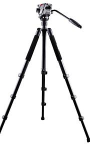 professionelle kamera stativ med video hoved legering aluminium video stativ nt-767