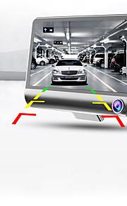 full hd 1080p nuovo a tre canali fotocamera 4.0 pollici a doppia lente regolabile 170 gradi grandangolare visione notturna del dvr