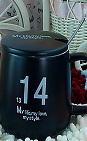 미니멀리즘 파티 드링크웨어, 300 ml 장식 세라믹 누드 우유 일상용 컵