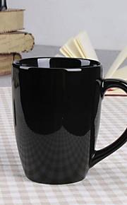 미니멀리즘 드링크웨어, 400 ml 장식 세라믹 누드 우유 일상용 컵