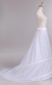 Комбинации С длинным шлейфом Средней длины 1 Полиэфир Белый
