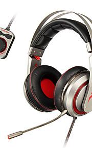 xiberia T19 spel oortelefoon LED verlichting stereo hoofdband gloeiende pc gamer hoofdtelefoon super bass 7.1 usb trillingen hoofdtelefoon