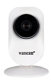 wanscam® 1,0 mp mini ip kamera med ir-cut 64 (Wi-Fi Protected setup plug and play)
