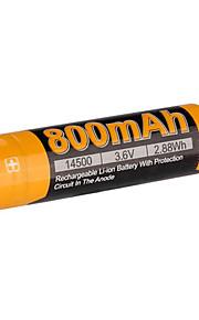 fenix 16650 700mAh 3.7V oplaadbare Li-ion batterij-arb-l16-700