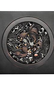 """Drain / Oil Rubbed Bronze / Other /10X10X7.5cm(3.9X3.9X3"""") /Brass /Antique /10cm(3.9"""") 10cm(3.9"""") 0.5kg"""