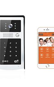 Smart dørklokke hd kamera forbinde android moblie wifi video dørklokken