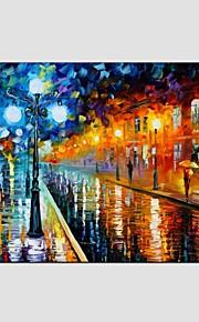 Peint à la main Paysage Paysages Abstraits Panoramique Horizontale,Moderne Classique Un Panneau Toile Peinture à l'huile Hang-peint For