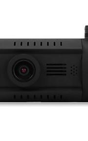 mini 0826 1.5 tommer 1296p hd lcd skærm gps bil DVR videokamera - sort med 135 grader vidvinkel linse / 3,2 pixel CMOS / ADAS
