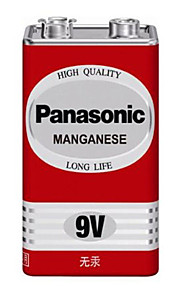 Panasonic 6F22ND / 1s de carbono 9v batería de zinc 1 paquete