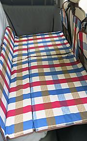 Blanco Colchón de coches Doble(136*90*3cm)Algodón Portable Cómodo Ajustable defensa equipamiento de seguridad