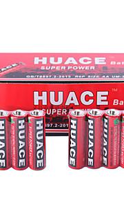 huace aa alkali / alkaline zink batteri 1.5V 40 pack