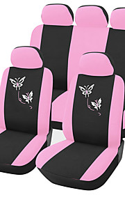 AUTOYOUTH Cubre asientos DoblePoliéster Portable Cómodo Ajustable Lavable