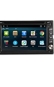6,2 pulgadas Android 4.1 2din en el tablero de coches reproductor de DVD con GPS, 3G, WIFI, iPod, RDS, BT, TV, Multi-Touch capacitiva