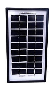 ywxd mp-003wp solpanel batterioplader til udendørs 3w