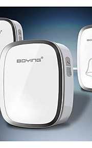 Bo Ying A101 433MHZ Home Wireless Doorbell Exchange Digital Music Doorbell Ultra Remote Remote Control Home Doorbell One Drag Two