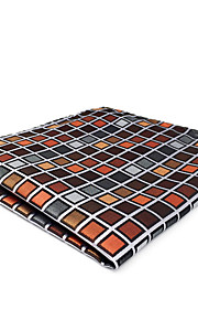 CH10 New For Mens Handmade Pocket Square Handkerchiefs Multicolor Checked 100% Silk Casual Fashion Classic