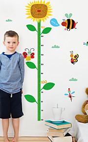 Dieren Botanisch Mode Muurstickers Vliegtuig Muurstickers Decoratieve Muurstickers Opmeet Stickers,Papier Materiaal Huisdecoratie