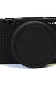 Digitale Camera-Hoes- voorSony-Eén-schouder- met-Zwart Roze Grijs