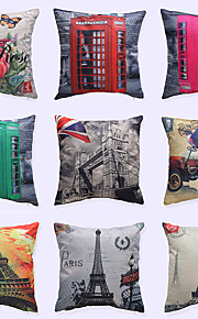 1 pcs Brocade Linen Pillow Case,Novelty Modern/Contemporary Casual