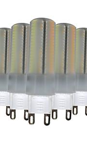 6W G9 LED à Double Broches T 136 SMD 3014 500-600 lm Blanc Chaud Blanc Naturel Blanc Gradable Décorative V 5 pièces