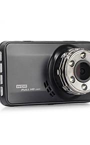 Coche dvr completo hd novatek coche cámara grabadora caja negra 140degree 4g lente cena nocturna visión tablero cam