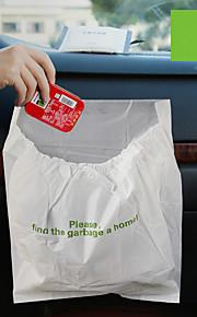 3 stuks auto vuilniszak weggooibare auto vuilniszak voor rommel grote capaciteit lekvrij draagbaar handig