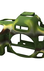 Digitale Camera-Hoes- voorCanon-Eén-schouder- met-Zwart Groen