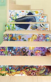 Dieren Muurstickers 3D Muurstickers Decoratieve Muurstickers,Vinyl Materiaal Huisdecoratie Muursticker